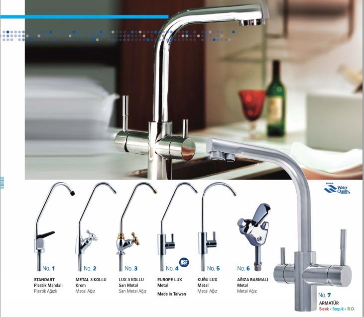 su arıtma cihazı musluk çeşitleri