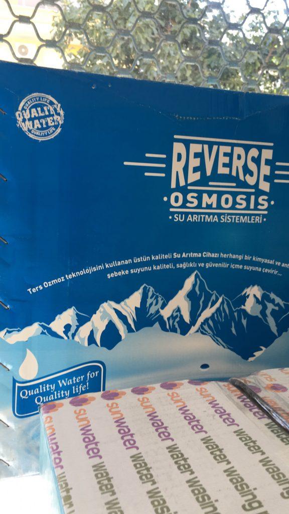 reverse osmosis su arıtma