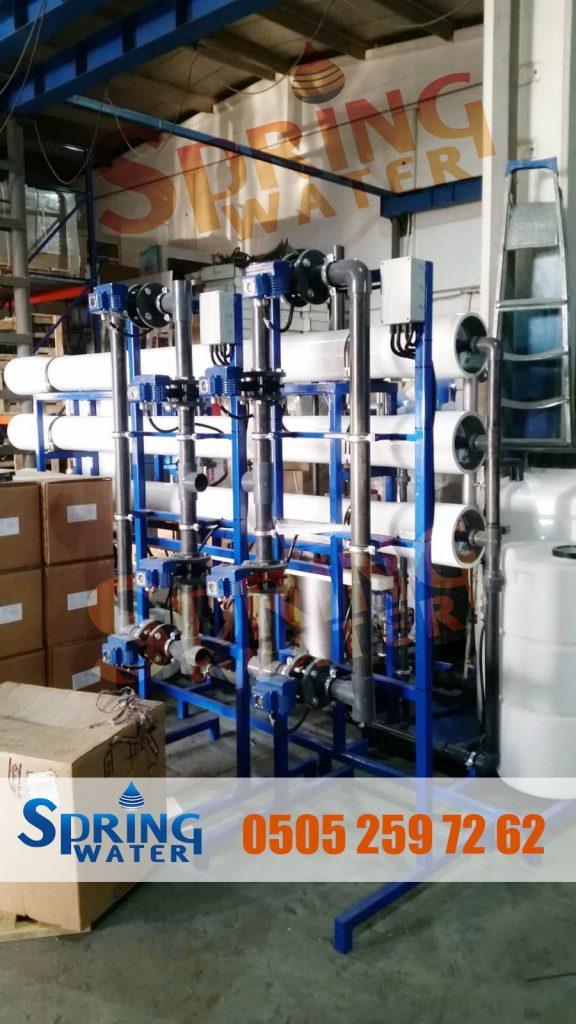 spring water endüstriyel su arıtma
