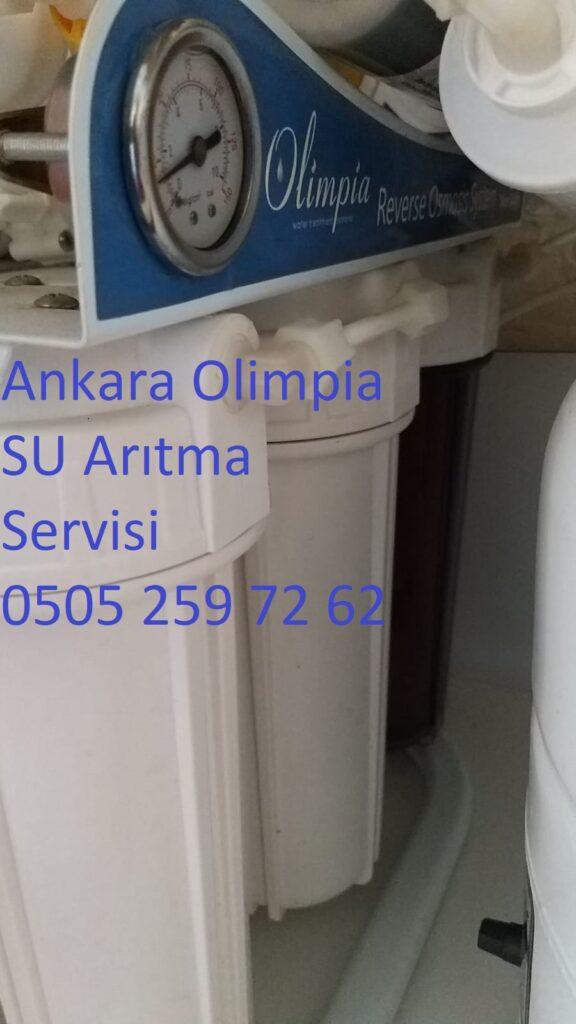 Ankara olimpia su arıtma servisi