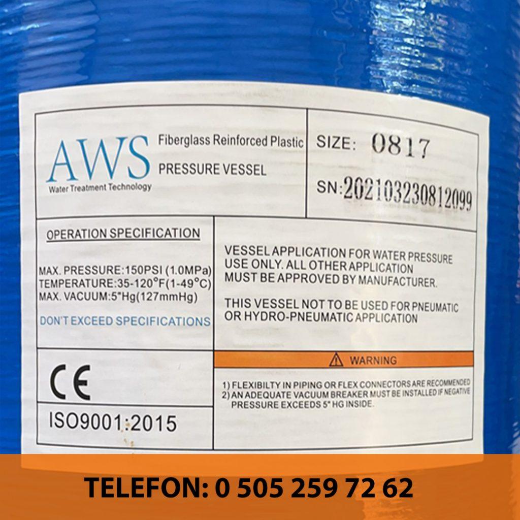 aws su arıtma cihazı 2